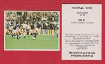 Italy v England Bettega Gentile Birtles Keegan Thompson Wilkins 14